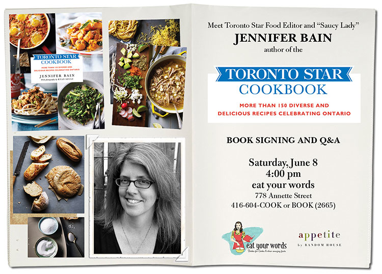 TorontoStar Cookbook event